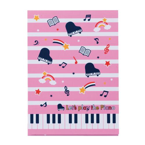 Piano lineB5下敷き♪※在庫有りと書いてあっても、お取り寄せ商品は受注後にメーカー注文になります。※☆【音符・小物グッズ-音楽雑貨】【音楽雑貨】  音楽グッズ  <br>バレエ発表会 記念品 プレゼントに最適 ♪