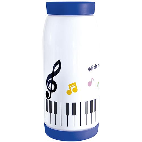 Piano line 真空ステンレスボトル360ml カラフル音符 ♪※在庫有りと書いてあっても、お取り寄せ商品は受注後にメーカー注文になります。※☆【音符・小物グッズ-音楽雑貨】【音楽雑貨】  音楽グッズ  <br>バレエ発表会 記念品 プレゼントに最適 ♪