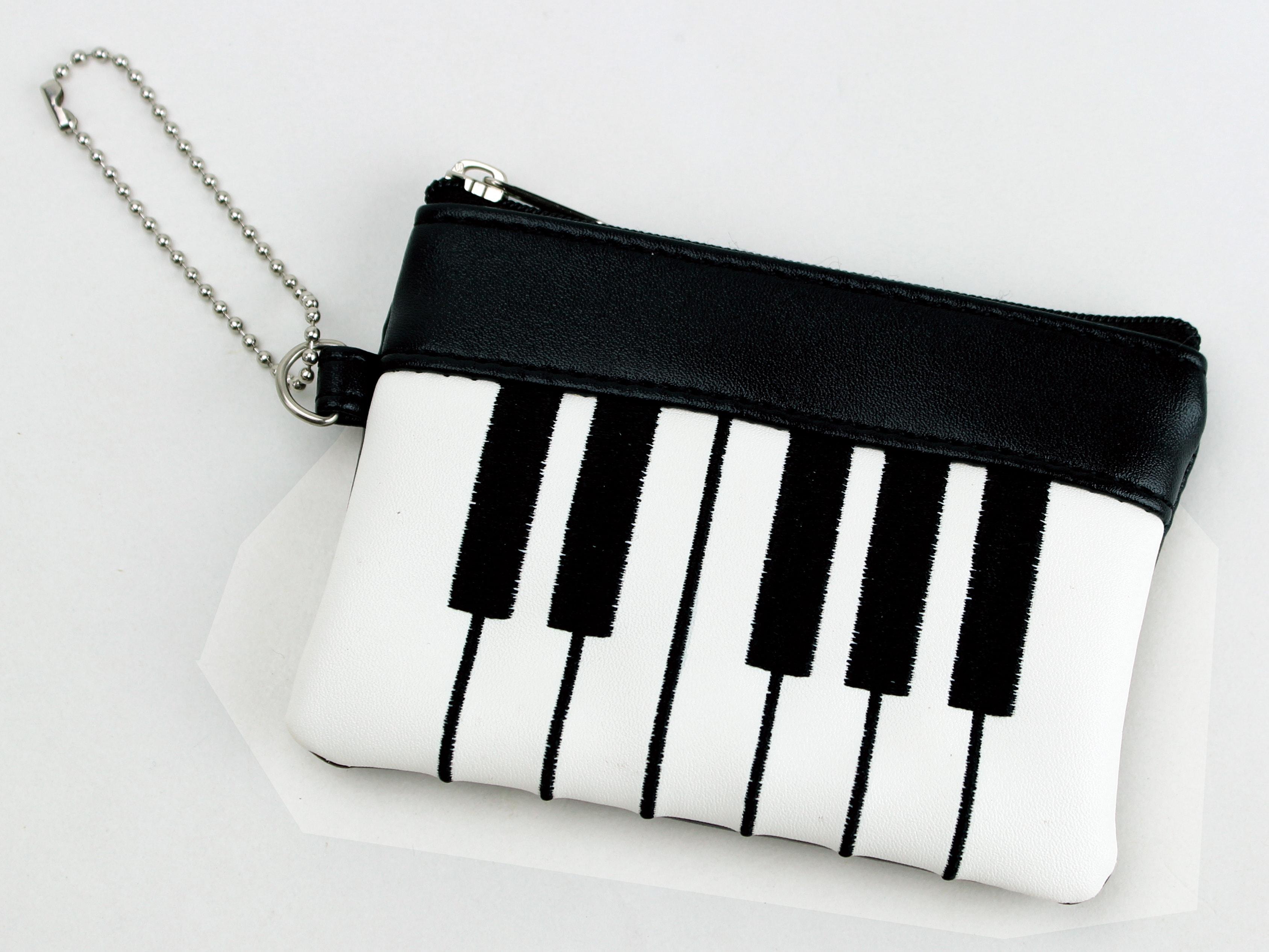ピアノポーチ♪※在庫有りと書いてあっても、お取り寄せ商品は受注後にメーカー注文になります。※☆【音符・小物グッズ-音楽雑貨】【音楽雑貨】  音楽グッズ  <br>バレエ発表会 記念品 プレゼントに最適 ♪