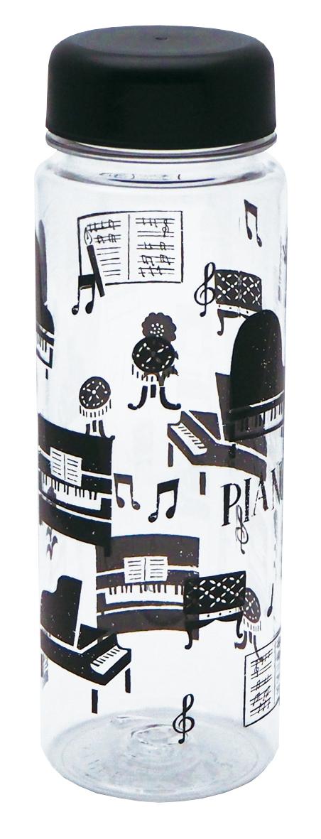 クリアボトル 500ml la la PIANO♪※在庫有りと書いてあっても、お取り寄せ商品は受注後にメーカー注文になります。※☆【音符・小物グッズ-音楽雑貨】【音楽雑貨】  音楽グッズ  <br>バレエ発表会 記念品 プレゼントに最適 ♪