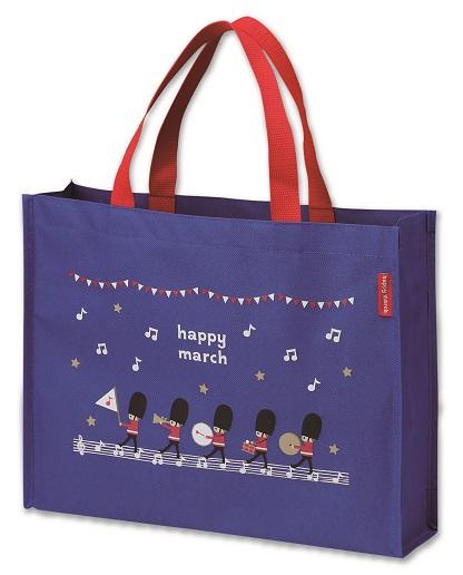 HM レッスンバッグ♪※在庫有りと書いてあっても、お取り寄せ商品は受注後にメーカー注文になります。※☆【音符・小物グッズ-音楽雑貨】【音楽雑貨】  音楽グッズ  <br>バレエ発表会 記念品 プレゼントに最適 ♪