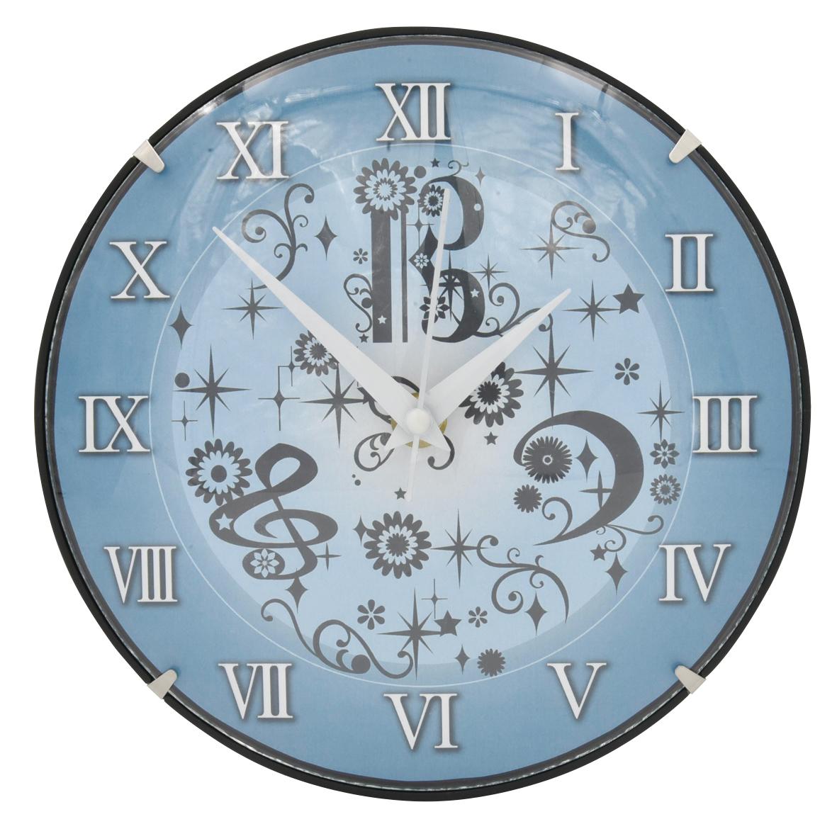 ガラスドーム時計♪※在庫有りと書いてあっても、お取り寄せ商品は受注後にメーカー注文になります。※☆【音符・小物グッズ-音楽雑貨】【音楽雑貨】  音楽グッズ  <br>バレエ発表会 記念品 プレゼントに最適 ♪