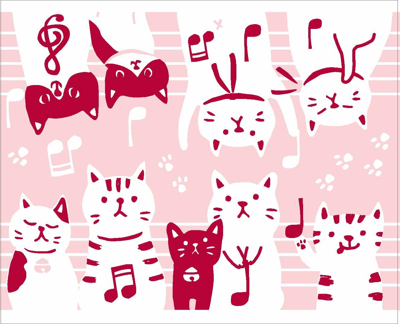 タオルハンカチ ♪※在庫有りと書いてあっても、お取り寄せ商品は受注後にメーカー注文になります。※☆【音符・小物グッズ-音楽雑貨】【音楽雑貨】  音楽グッズ  <br>バレエ発表会 記念品 プレゼントに最適 ♪