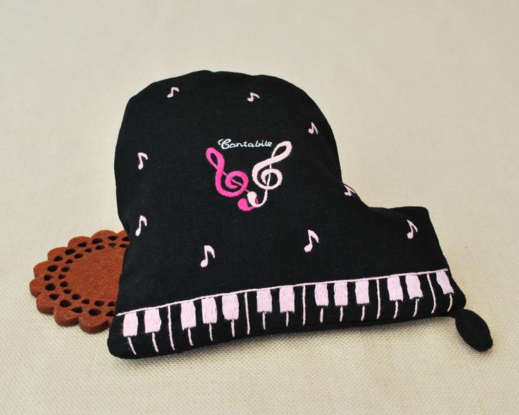 グランドピアノのポーチ